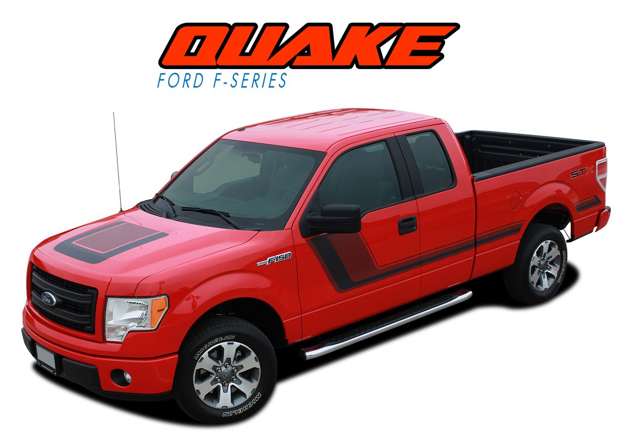 2009 2010 2011 2012 2013 2014 ford f 150 tremor fx appearance package vinyl graphics