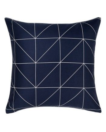 AURA KAMI INDIGO | EURO PILLOWCASE