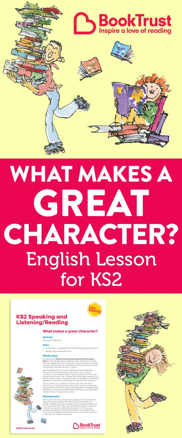 What Makes A Great Character? Speaking, Listening And