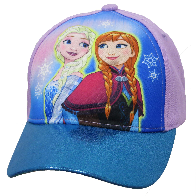 Disney Girl s Frozen Anna Elsa 3D Pop Baseball Cap  2469703f3f22