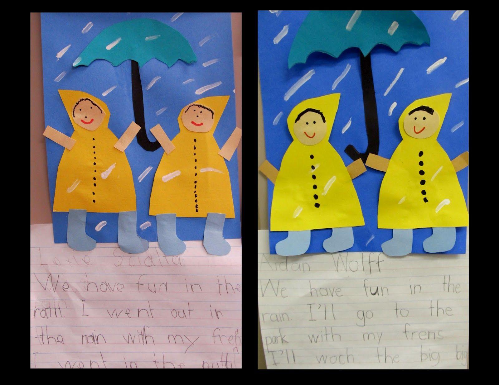 Rain Writing And Craft