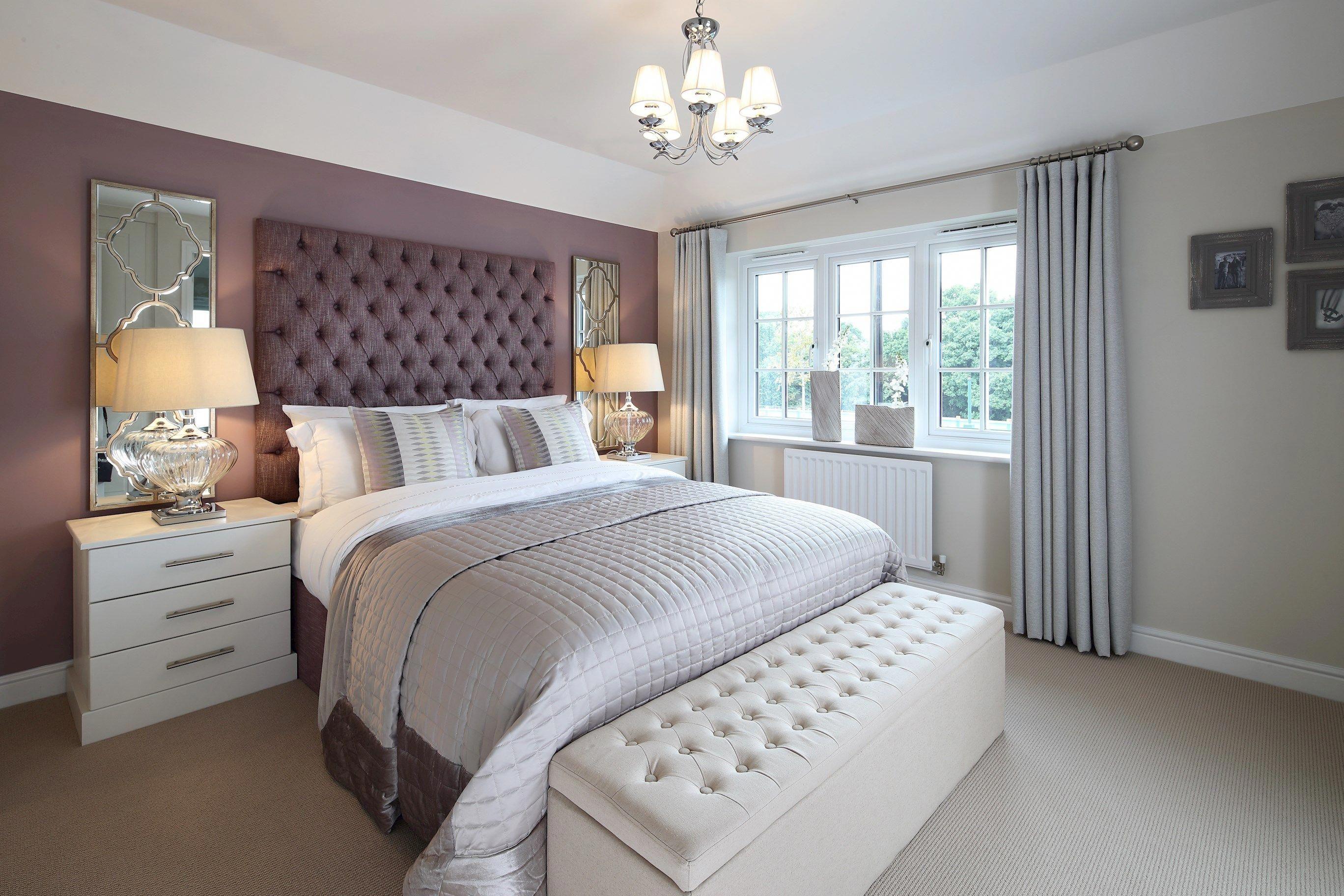 Dusky Pink Bedroom Walls