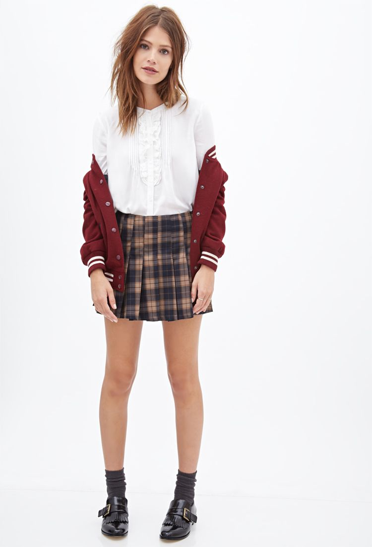 Classic Ruffled Top | FOREVER21 - 2000120524