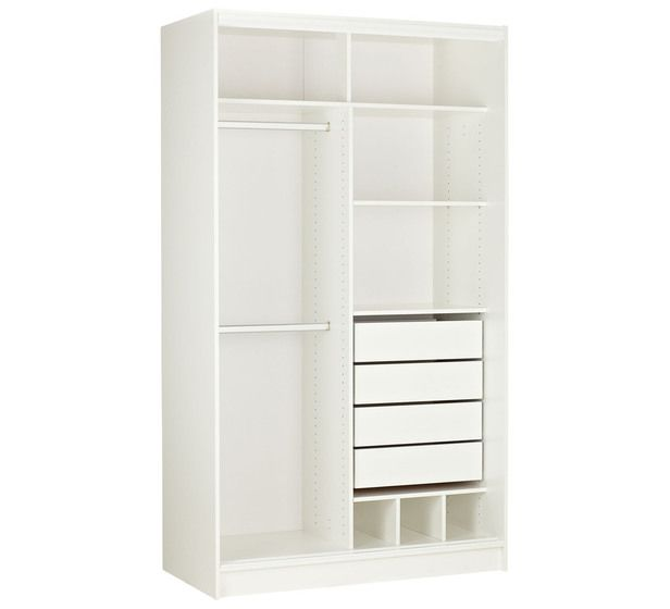 Home 2 Door 120cm Wardrobe Package Bedroom Bedroom Mattresses Categories Fantastic Furniture Austra Build A Closet Closet Designs Built In Wardrobe