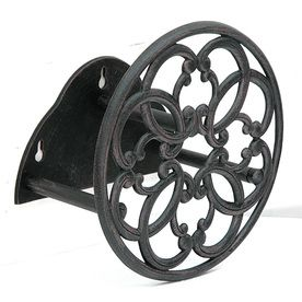 Garden Treasures Steel 100 ft Wall Mount Hose Reel Would like to