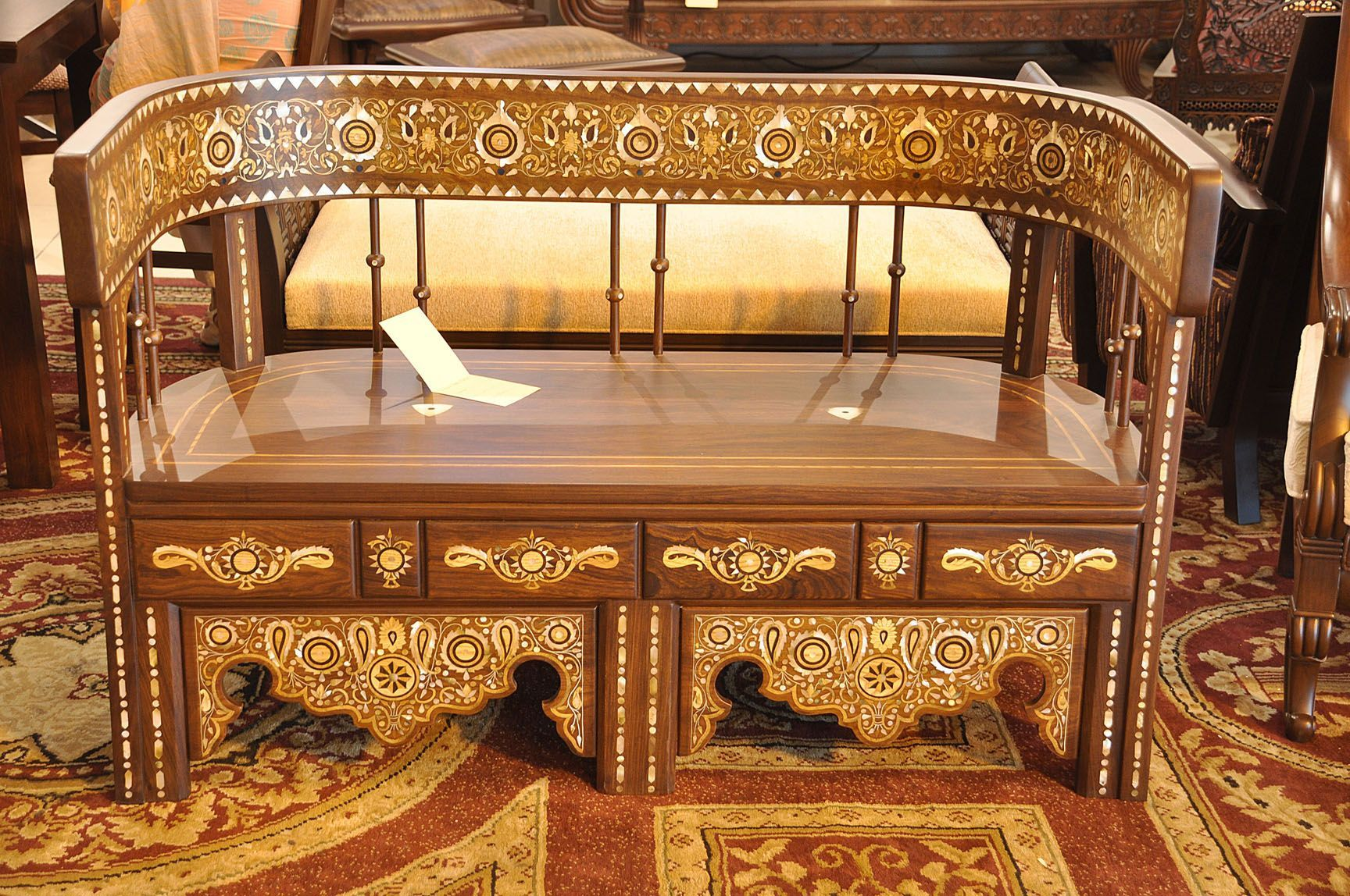 Latest Pakistani Wooden Furniture Design For Living Room Chiniot