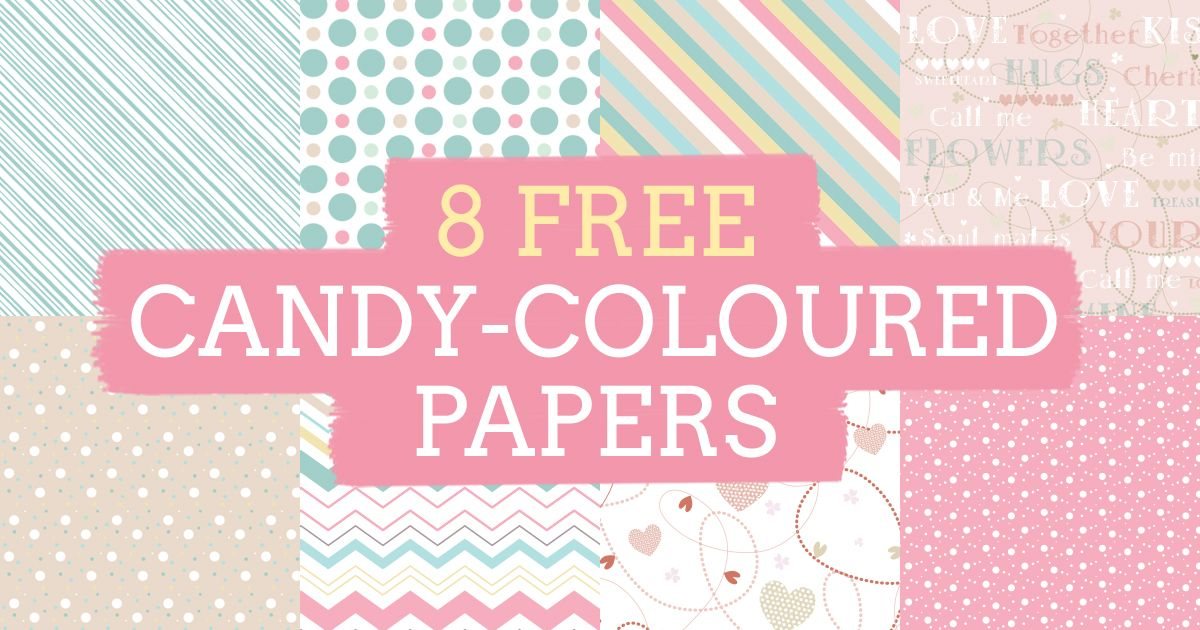 Card Making Patterns Ideas Part - 41: Paper Paper, Free Paper, Paper Crafts, Free Candy, Candy Colors,  Scrapbooking Ideas, Card Making, Patterns, Paper