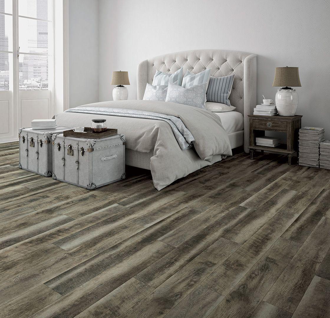 Coretec Hd Odessa Grey Driftwood 50lvr654 Bedroom Flooring