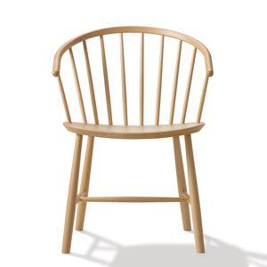 CASANOVA Møbler — Fredericia J64 stol natur   Stol