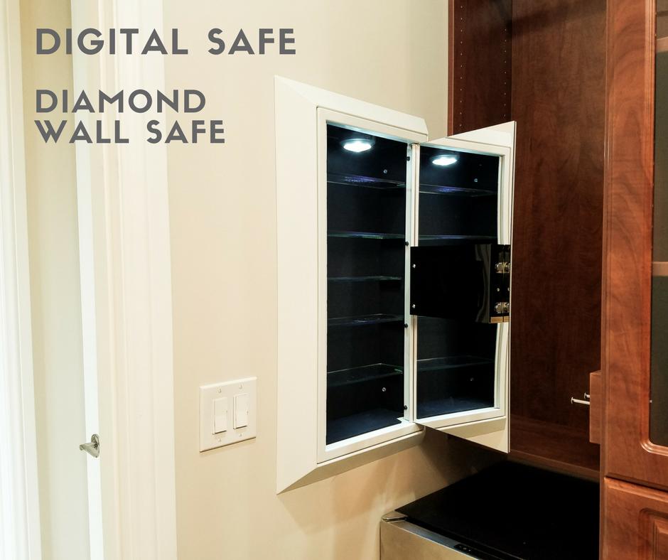 Shop Luxury Wall Safes Wall Safe Diamond Wall Hidden Storage