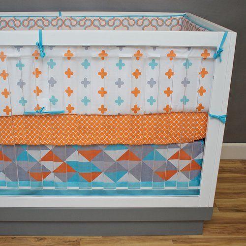 Found it at Wayfair - Aquageo 5 Piece Crib Bedding Set