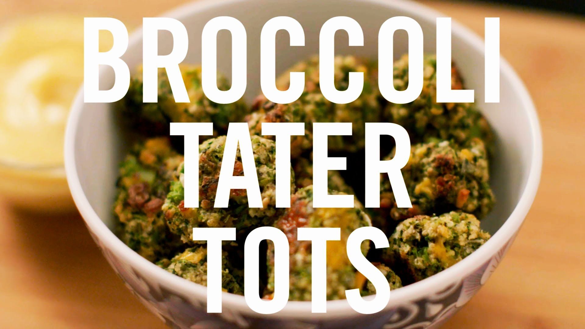 The addictive tater tots from your childhood are back with a new spin! Treat yourself to these scrumptious, snackable bites that are both hearty and healthy. Mix broccoli with cheese, breadcrumbs, and seasonings to pack a satisfying mouthful of crunchy goodness.