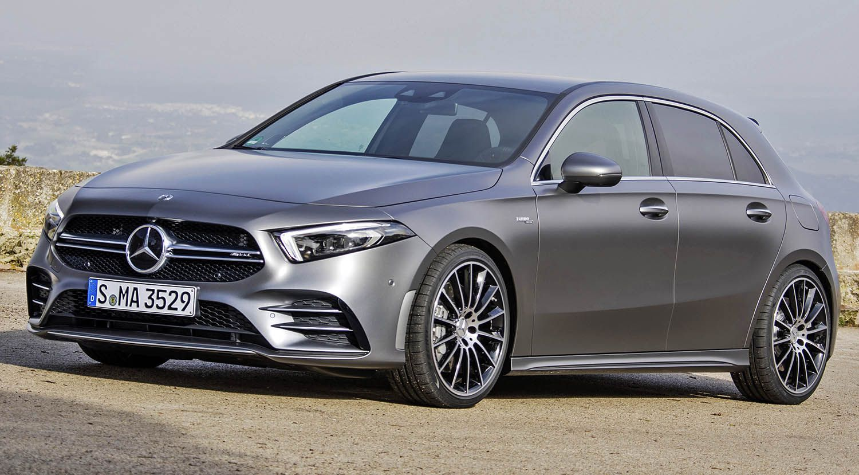 مرسيدس آي أم جي آي 35 هاتشباك من أجمل السيارات المدمجة الرياضية والهجينة في العالم موقع ويلز Mercedes Amg Benz