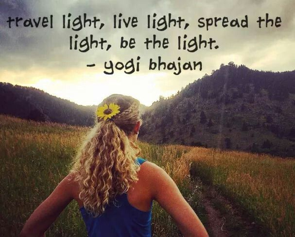 Be the light....