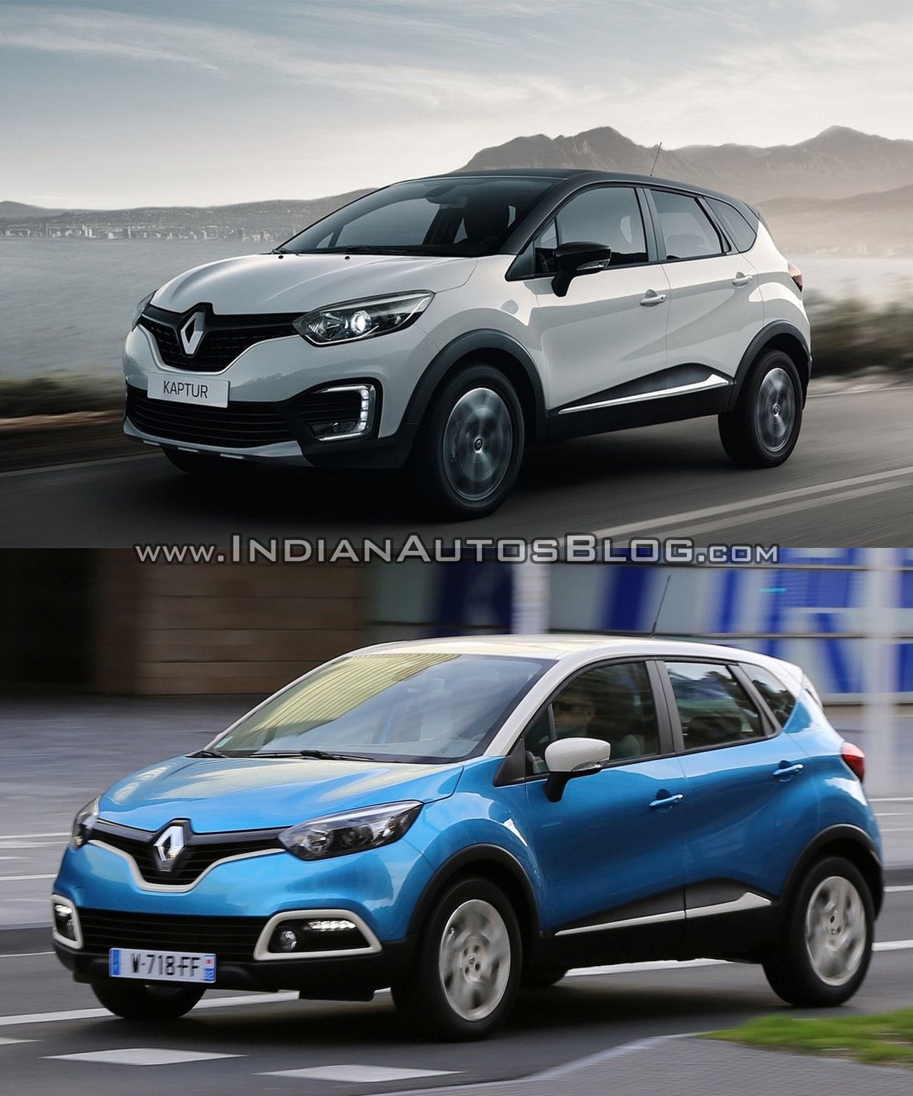 Renault Kaptur Vs Renault Captur Comparo Automobile Car