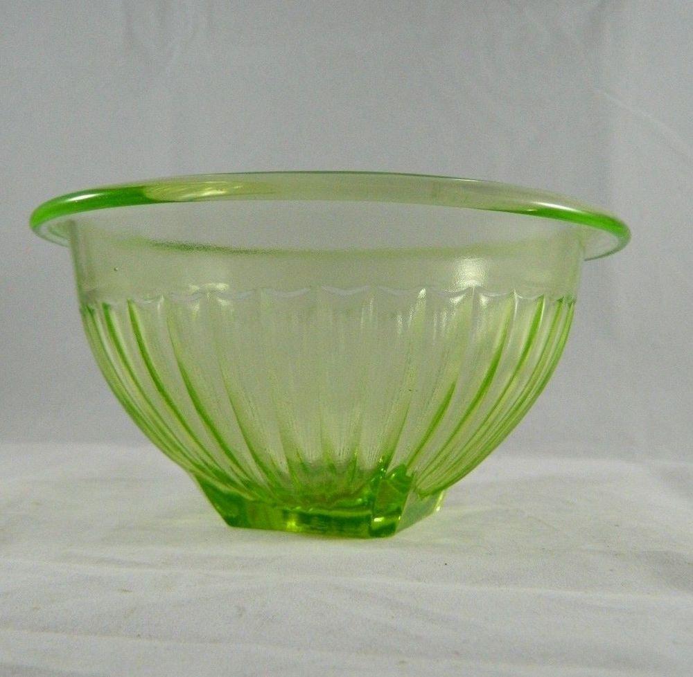 Vintage green depression glass mixing bowl ribbed 3 x 6 small vintage green depression glass mixing bowl ribbed 3 x 6 small square reviewsmspy