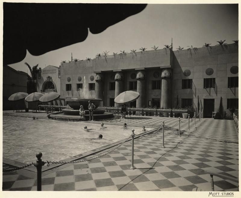 The Ambassador Hotel Wilshire Boulevard Los Angeles Ca Swimming Pool Ca 1930 39 S Hotel