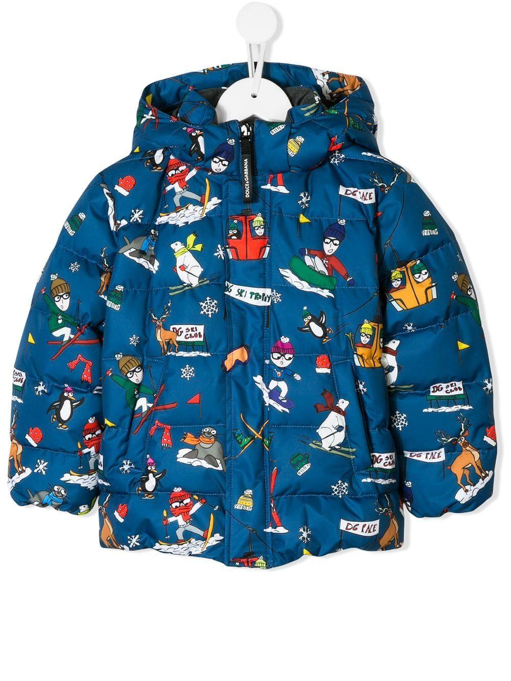 3793cd95b Dolce & Gabbana Kids D&G Family padded jacket | KIDS NEW SEASON ...