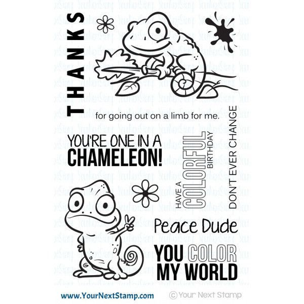 Your Next Stamp One Ina Chameleon Startingascrapbook Starting A