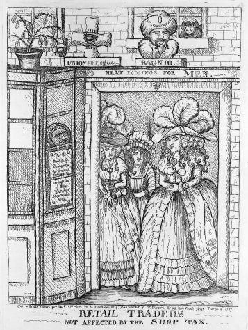 Swift S Poem On 18th Century Dress 18th Century Caricature