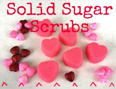 Solid Sugar Scrubs Recipe 1