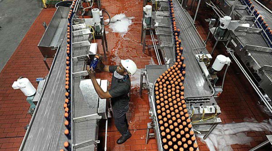 PepsiCo's Gatorade plant, 2008, Dallas, Texas Gatorade