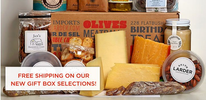 Bklyn Larder Brooklyn Cheese Provisions Local Sustainable Made Fresh Daily Menu Gift Boxes Prepared Foods Eat Cheese