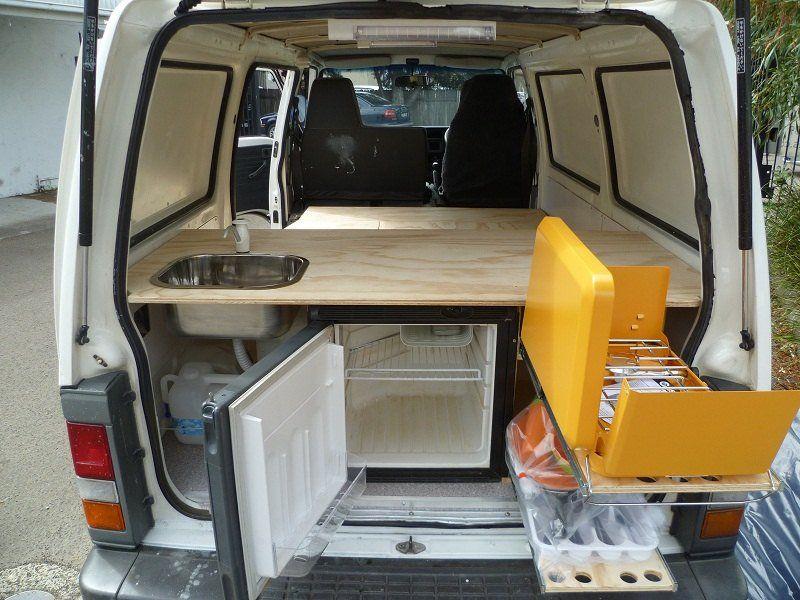 Ford econovan camper conversion #7 van Pinterest Camper - wellmann küchenschränke nachkaufen