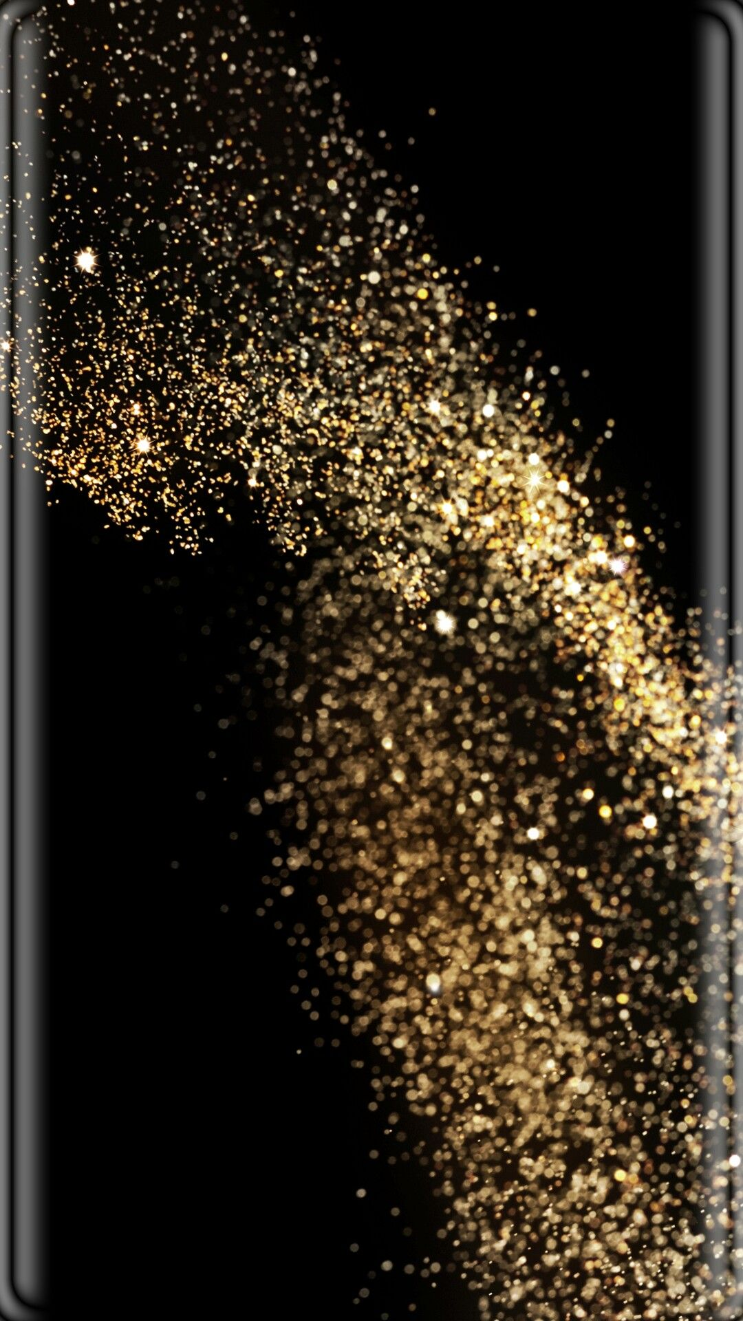 Black With Gold Dust Wallpaper Gold Dust Wallpaper Wallpaper S Iphone Wallpaper Glitter