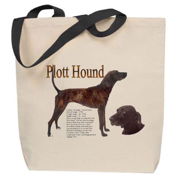 Plott Hound Tote Bag #plotthound