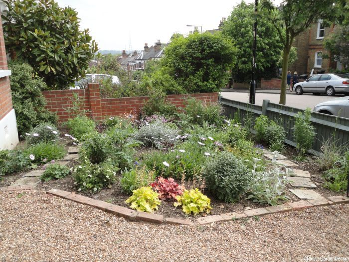 Cottage style front garden planting design -- Front Gardens   Garden Design Portfolio -- http://plews.gd/1WUoUAc