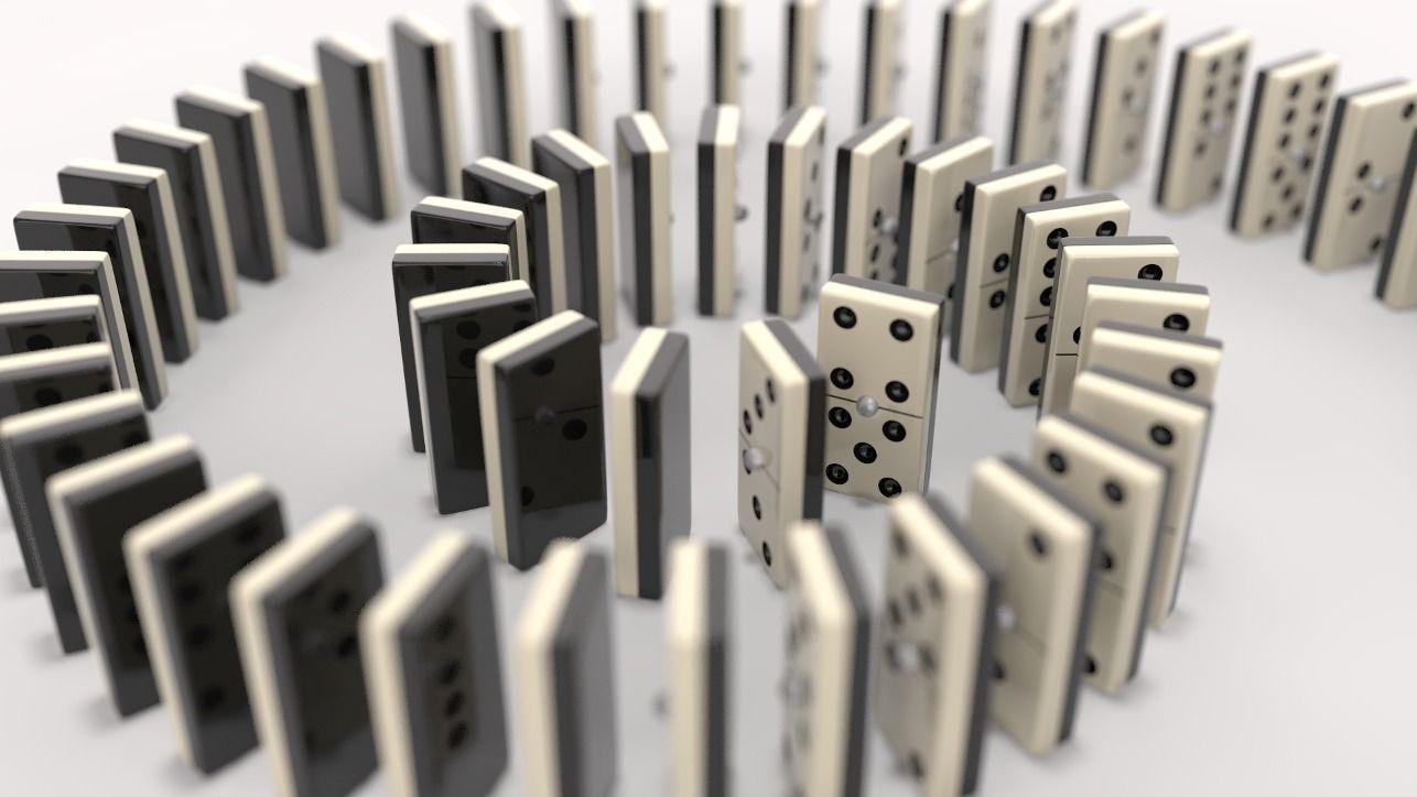 dominoes | Dominos image, Domino, Agen