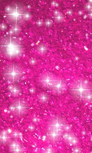 Hot Pink Stars Wallpaper View Bigger Glitter Stars Live