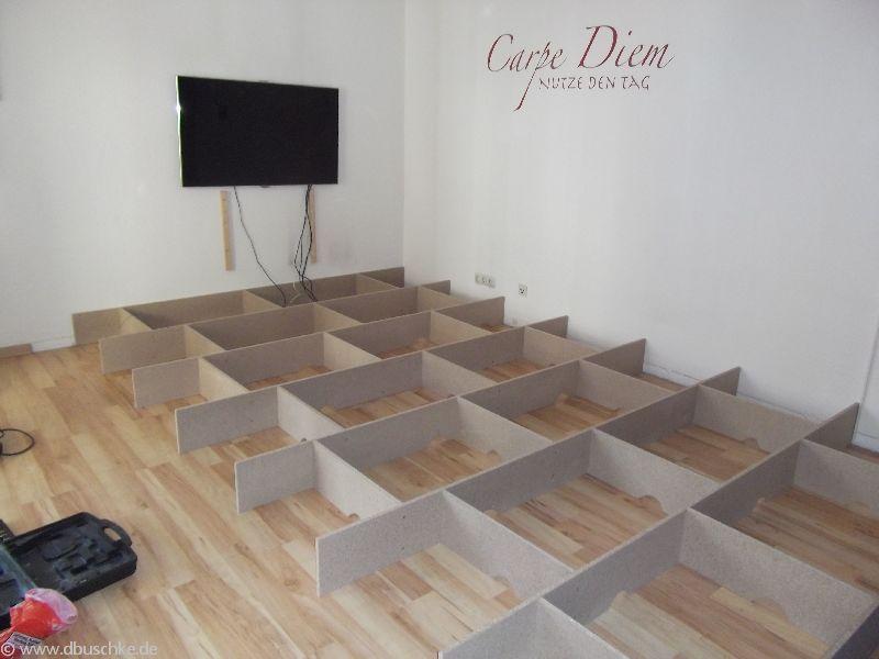 Detaillierte Anleitung Mit Bildern Für Den Bau Eines Wohnzimmer Podest. Mit  Dieser Anleitung Bist Du