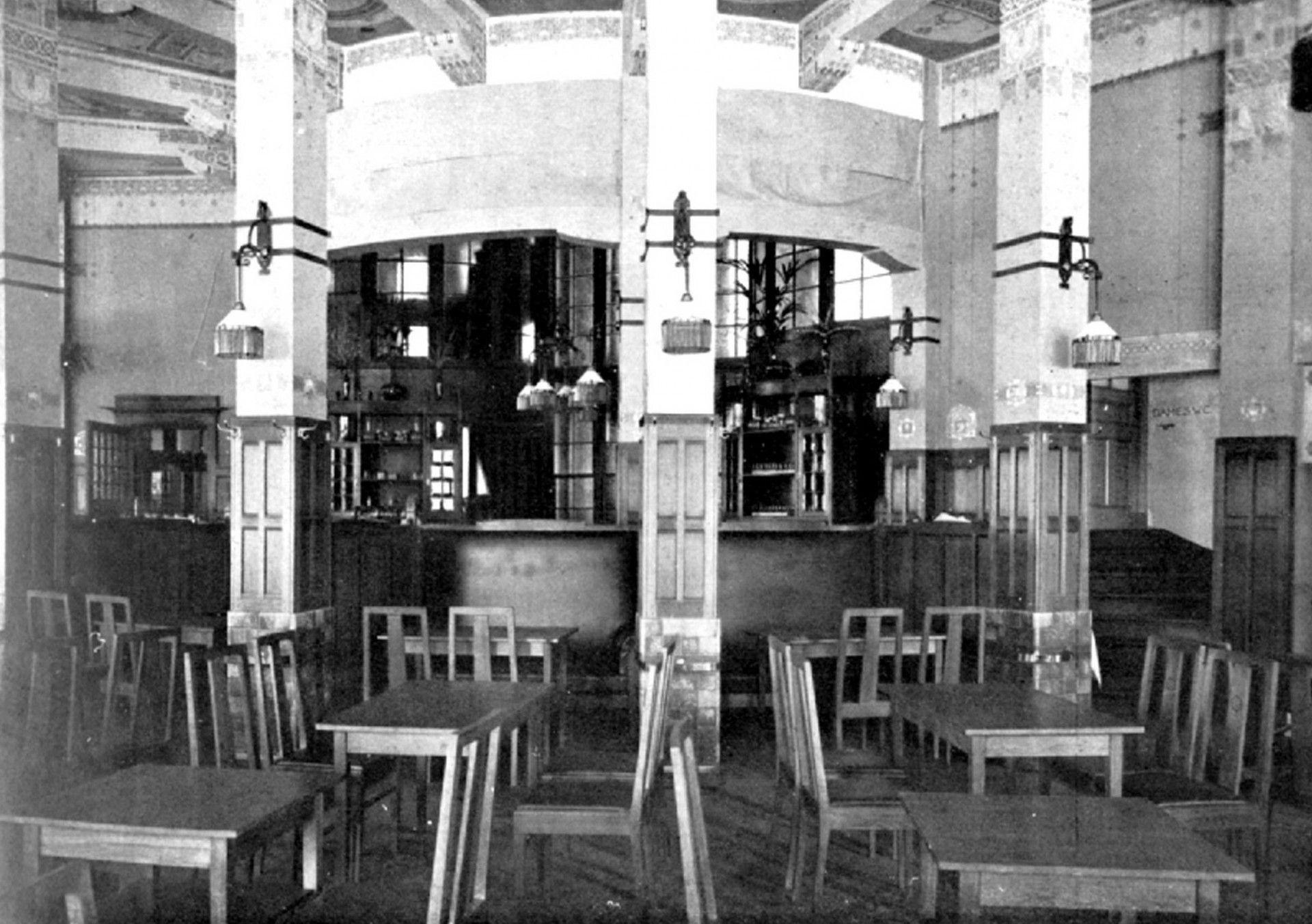 hofplein stations interieur voor 1940