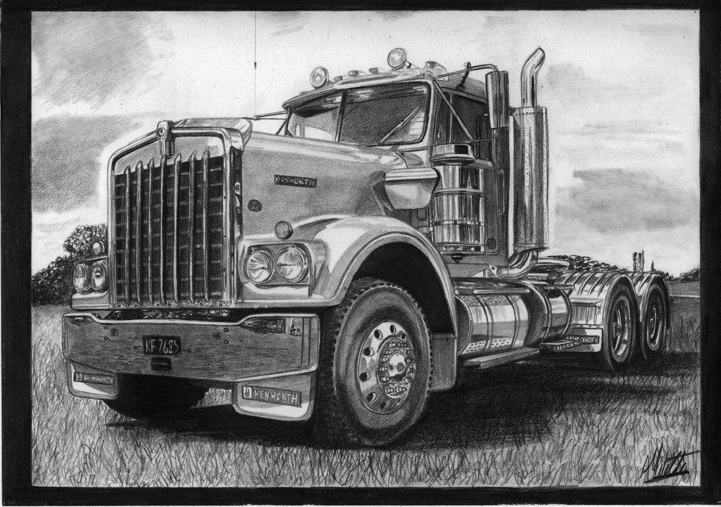 browsing designs interfaces on deviantart semi truck drawings pinterest semi trucks. Black Bedroom Furniture Sets. Home Design Ideas
