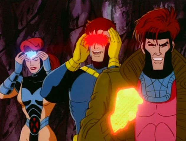Gambit Cyclops And Jean Grey 90s Cartoon X Men Funny 90s Cartoons