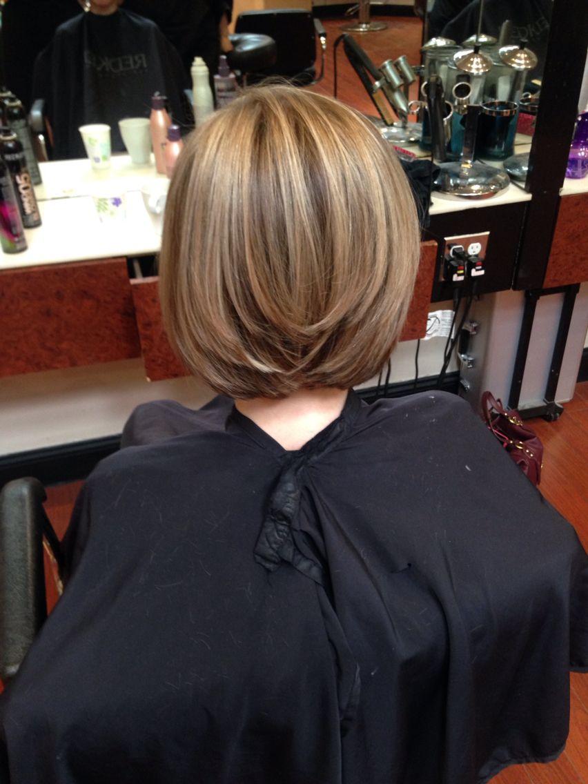Mens haircut st louis swing bob with natural balayage highlights stl hairstylist