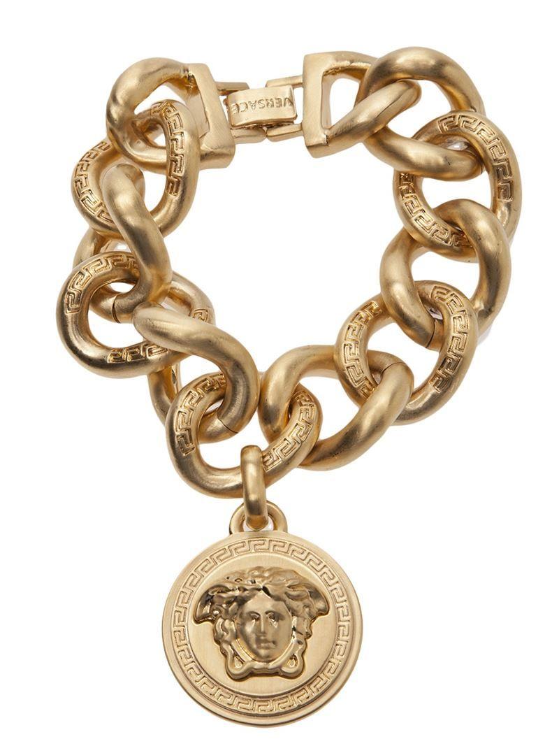 What i like u style by madeline versace umedusau charm bracelet gold