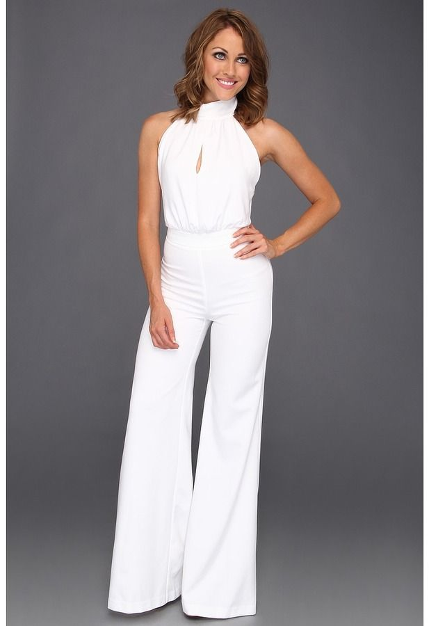 White Jumpsuit By Abs By Allen Schwartz Buy For 308 From