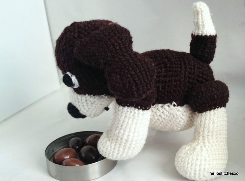 Beagle Amigurumi (Patrón libre de ganchillo) | Amigurumis ...