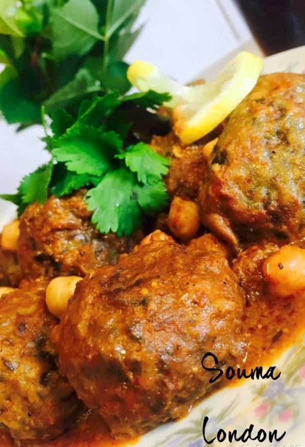 Tajine Aux Boulettes De Viande Hachee Epinards Amour De Cuisine Recette Cuisine Cuisine Orientale Recette Avec Viande Hachee
