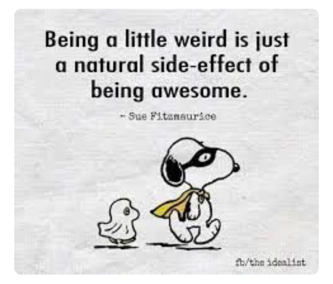 Funny Quotes About Being Weird 5