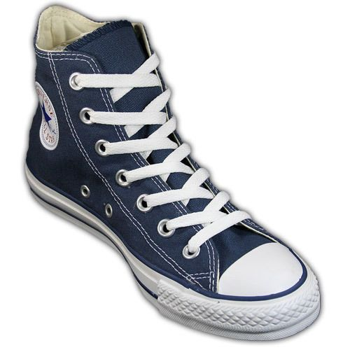 Mens Converse Shoes Hi Navy All Star Chuck Taylor Hi Top Shoes Navy Blue M9622 | eBay