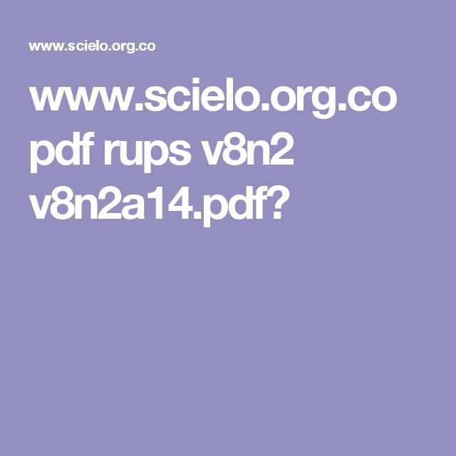 www.scielo.org.co pdf rups v8n2 v8n2a14.pdf?