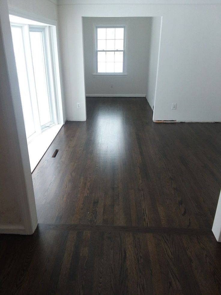 ebony and royal mahogany mix for restaining wood floor