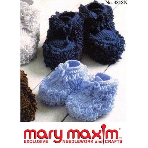Mary Maxim Mukluk Slippers Pattern Free Patterns Patterns