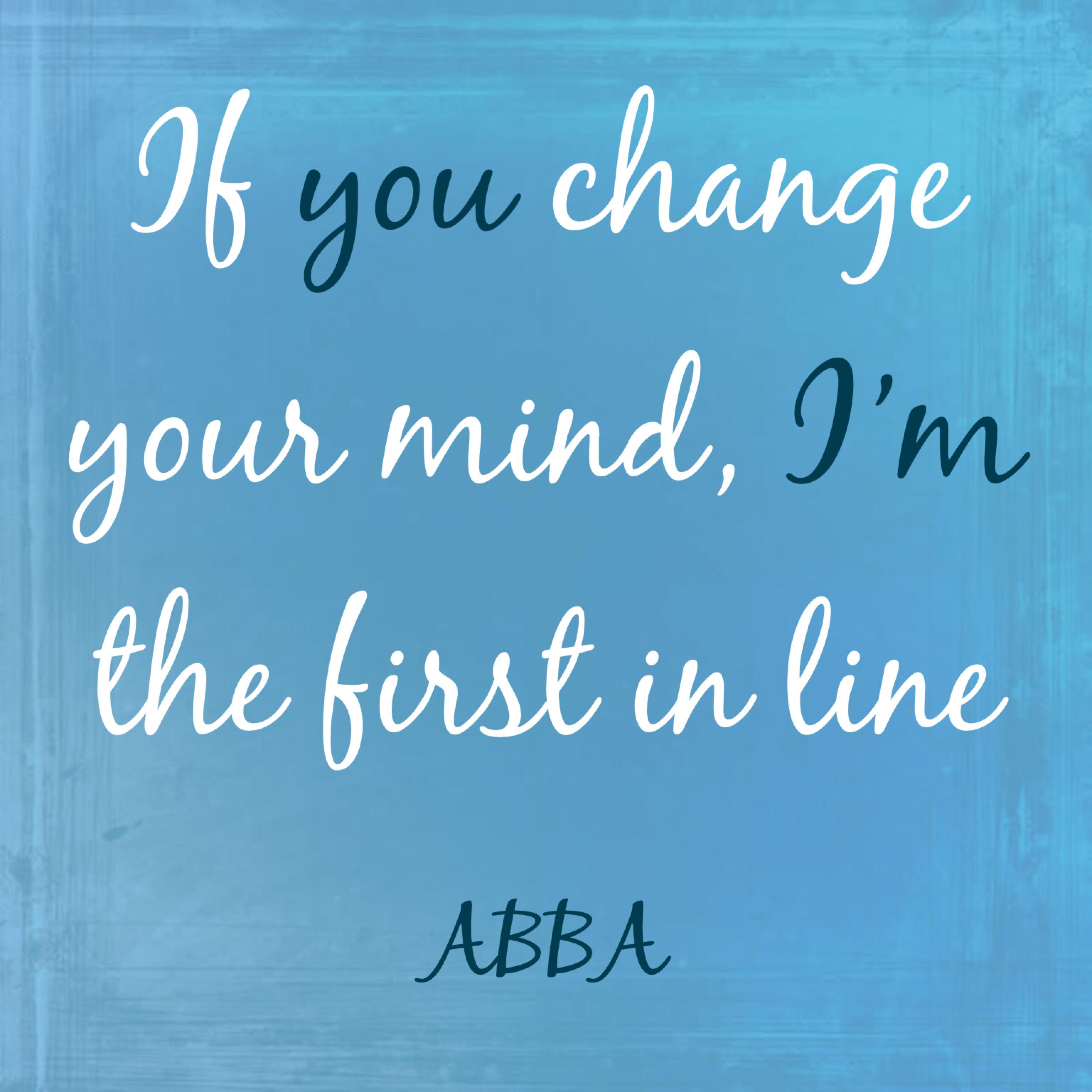 Take A Chance On Me Abba Lyrics Abba Lyrics Song Lyrics Wallpaper Abba Songs Lyrics