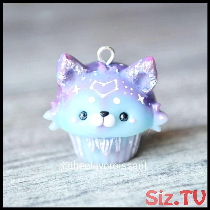 Galaxy Cupcake Fimo Anh nger ist so s und detailliert Galaxy Cupcake Fimo Anh nger ist so s und detailliert anhanger cupcake detailliert galaxy Galaxy Cupcake Fimo Anh ng...