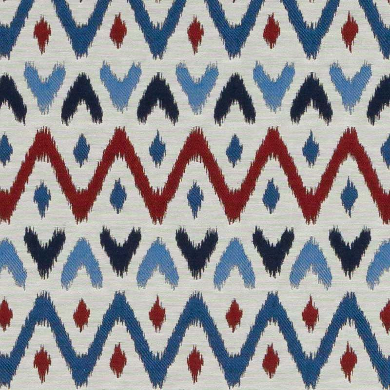 Duralee Salto Red And Blue Du16373 73 By Tilton Fenwick Indoor